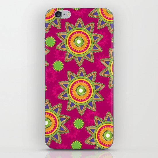 Moroccan Flower Wine iPhone & iPod Skin