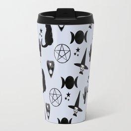 Creepy Cute Halloween Witch Design Travel Mug