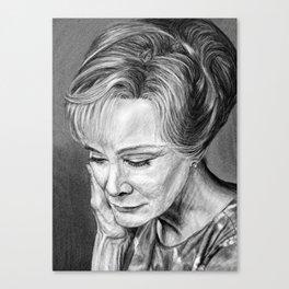 Jessica Lange Canvas Print