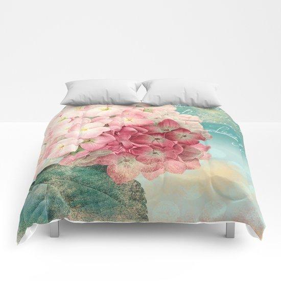 Vintage flowers #12 Comforters