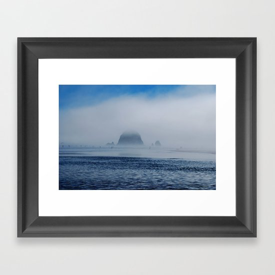Sift Framed Art Print