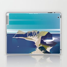 Alone In Nature - Deep Blue Deep View Laptop & iPad Skin