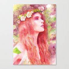 Flowering Canvas Print