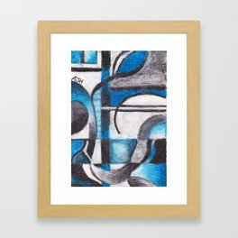02. Flow of Thought Framed Art Print