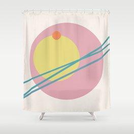 Juxtapose II Shower Curtain