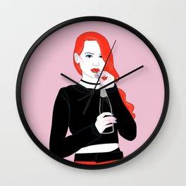 Cheryl Blossom Wall Clock