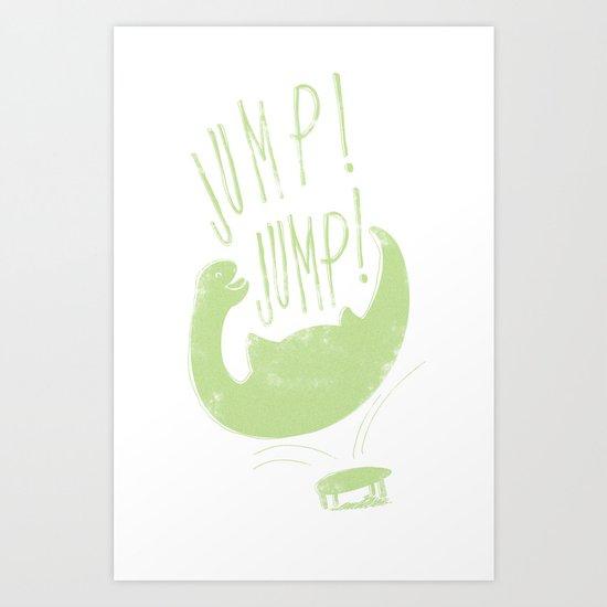 JUMP! JUMP! Art Print