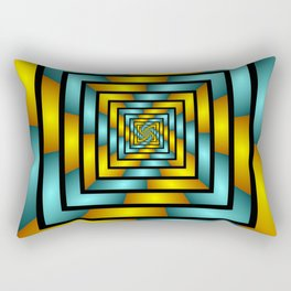 Colorful Tunnel 2 Digital Art Graphic Rectangular Pillow