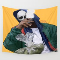 oz Wall Tapestries featuring Oz by ArtPharaoh