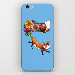 Hunt Flowers Not Foxes iPhone Skin