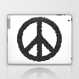 Ban The Bomb, Peace, Love, Protest Laptop & iPad Skin