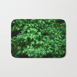 Military support Glow Japanese Maple Bath Mat