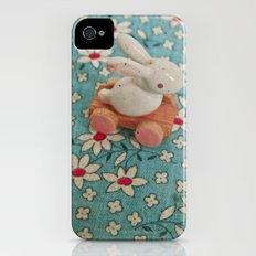 Bunny Blues Slim Case iPhone (4, 4s)