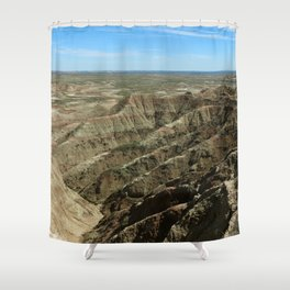 A Rugged Landscape Shower Curtain