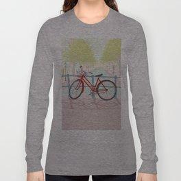 Amsterdam Canal Bike Long Sleeve T-shirt