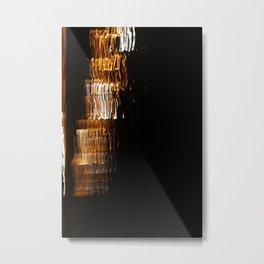Light on Canvas Metal Print