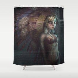 Undead Again Shower Curtain