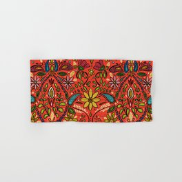 aziza fire Hand & Bath Towel