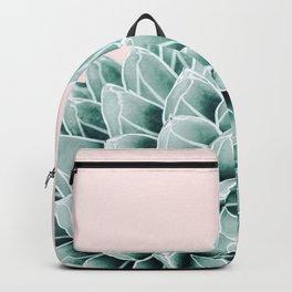 Succulent splendour - blush Backpack