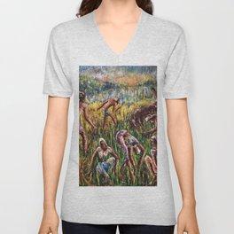 The Field Harvest Unisex V-Neck