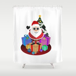Santa Claus - Christmas Shower Curtain