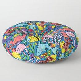 Fishy Fishy Floor Pillow