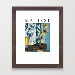 The Plaster Torso - Henri Matisse - Exhibition Poster Framed Art Print