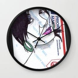 Stuck. Wall Clock