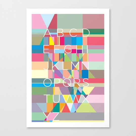 Letters3 Canvas Print