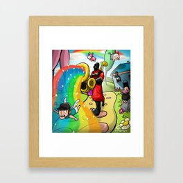 do you belive in magic Framed Art Print