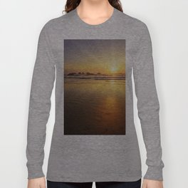 Sunset over the Pacific  Long Sleeve T-shirt