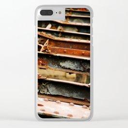 Rusted Bridge Clear iPhone Case