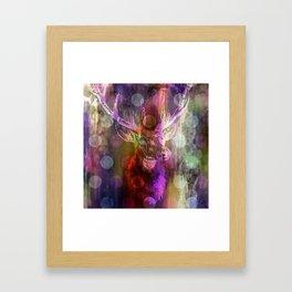 DEER + KARLA II Framed Art Print