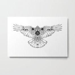 Raven of fate Metal Print