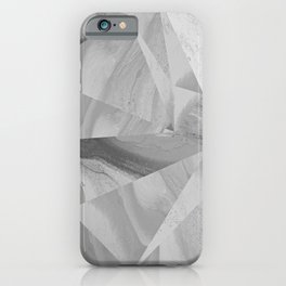 Irregular Marble II iPhone Case