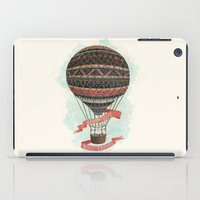 baloon iPad Cases featuring have love, will travel by Laura Graves