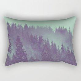 Adventure Awaits Forest Rectangular Pillow