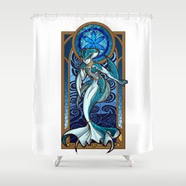 Sage of Water Shower Curtain