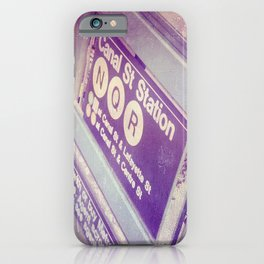 Canal St Subway New York City iPhone Case