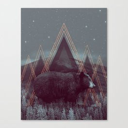 In Wildness   Bear Canvas Print