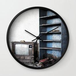 Light Reading Wall Clock