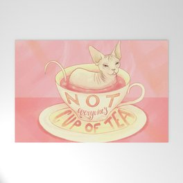 Not everyone's cup of tea - Sphynx Cat Welcome Mat