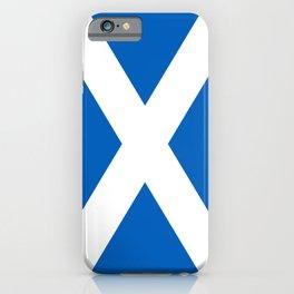 Flag of Scotland - Scottish Flag iPhone Case