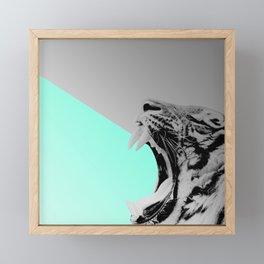 GROS CHAT Framed Mini Art Print