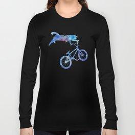 BMX Cat Long Sleeve T-shirt