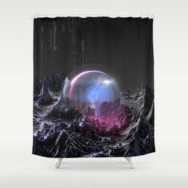 Geosphere II Shower Curtain