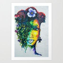Color Me Sexy Art Print