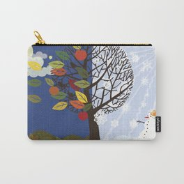 """Seasons"" Summer-Autumn Carry-All Pouch"