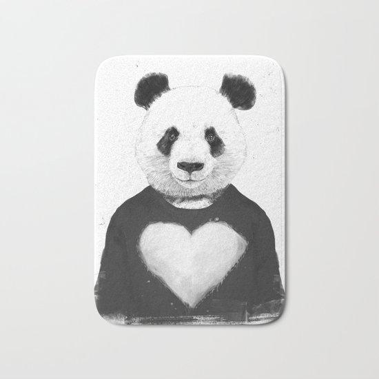 Lovely panda Bath Mat