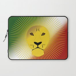 Lion And Sun Home Laptop Sleeve